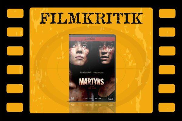 Filmkritik Martyrs mit DVD Cover in Filmstreifen