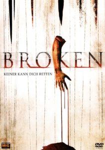 DVD Cover Broken mit abgetrenntem Arm