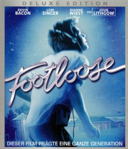 Cover Footloose mit Kevin Bacon