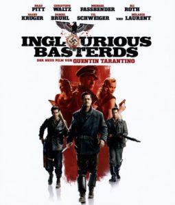 DCD Cover Inglourious Basterds mit Brad Pitt, Eli Roth, Christoph Waltz und anderen