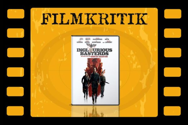 Filmkritik mit DVD Cover Inglourious Basterds in Filmstreifen