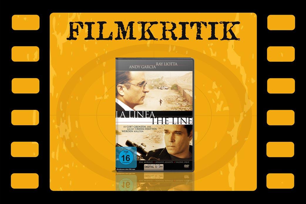 Filmkritik La Linea mit DVD Cover in Filmstreifen