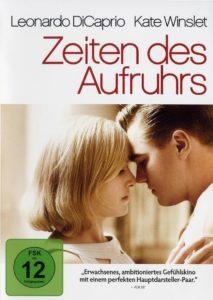 Cover Zeiten des Aufruhrs mit Leonardo DiCaprio und Kate Winslet fast küssend
