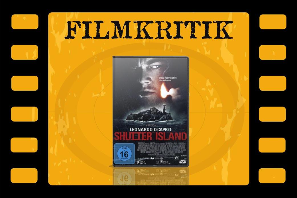 Shutter Island mit DVD Cover in Filmstreifen