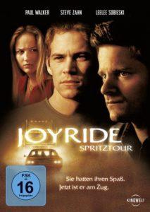 DVD Cover von Joyride mit Paul Walker, Steve Zahn und Leelee Sobieski