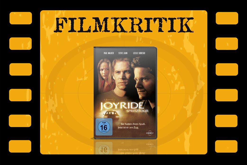 Filmkritik Joyride mit DVD Cover in Filmstreifen