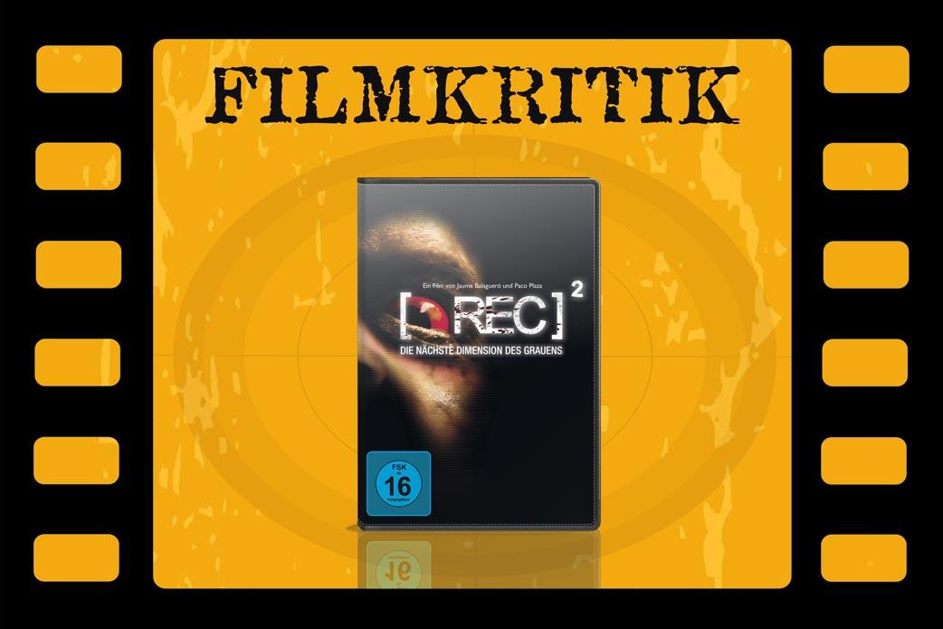 Filmkritik zu [Rec2| mit DVD Cover in Filmstreifen