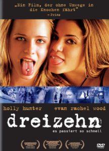 DVD Cover Dreizehn mit Nikki Reed und Evan Rachel Wood