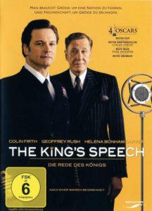 Cover von The King's Speech mit Colin Firth und Geoffrey Rush