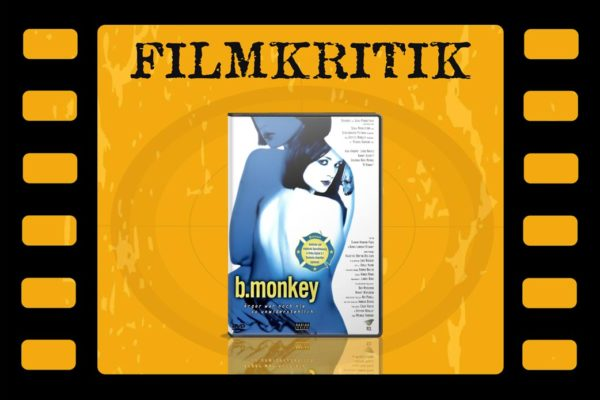 Filmkritik B. Monkey mit DVD Cover in Filmrolle