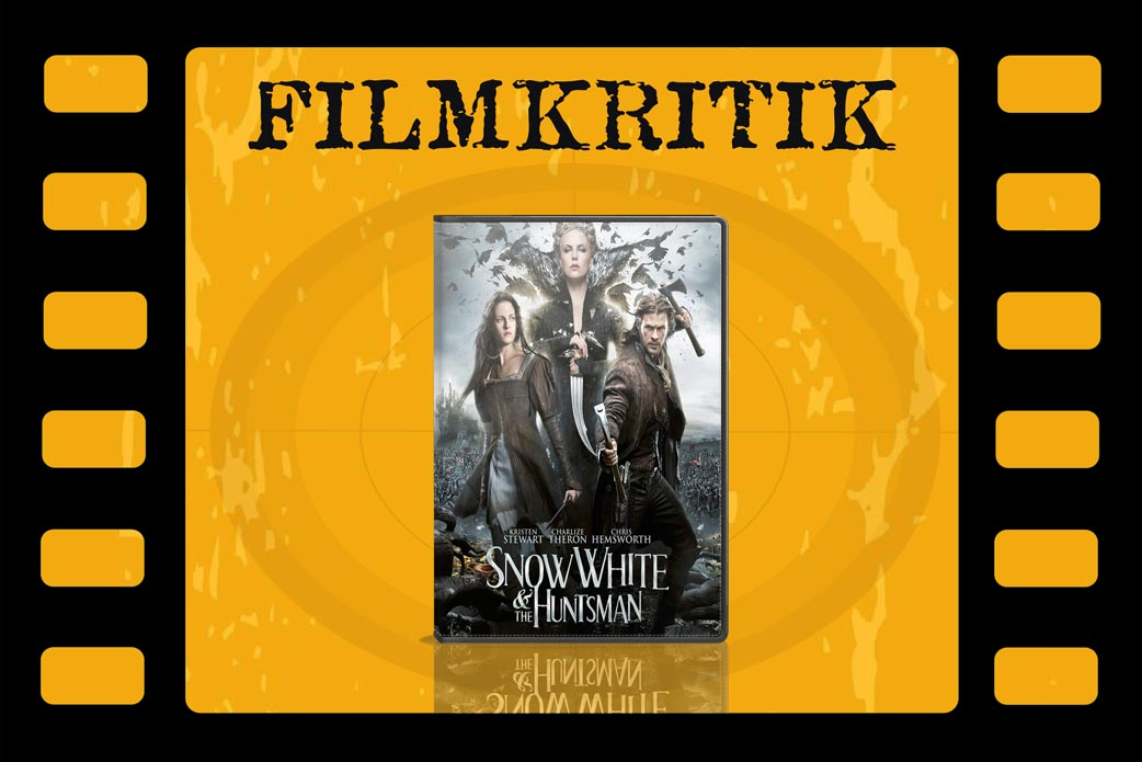 Filmkritik Snow White and the Huntsman mit DVD Cover in Filmrolle