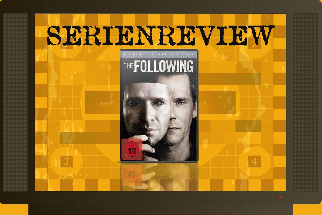 Serien-Review The Following Staffel 2 mit DVD Cover in Fernseher