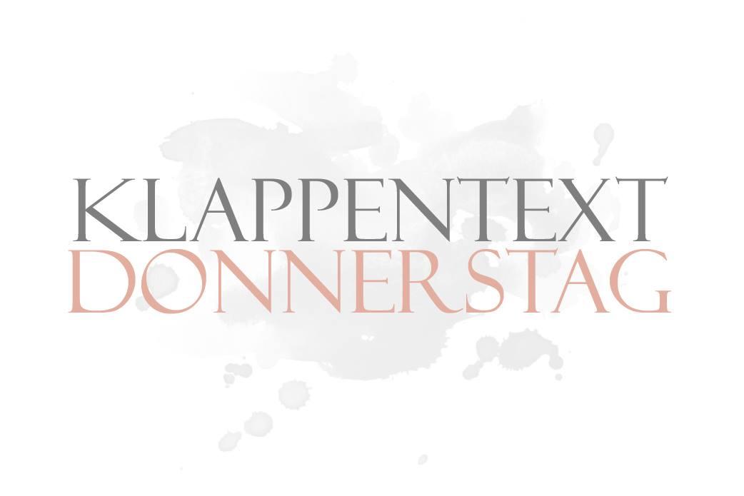 Klappentext-Donnerstag