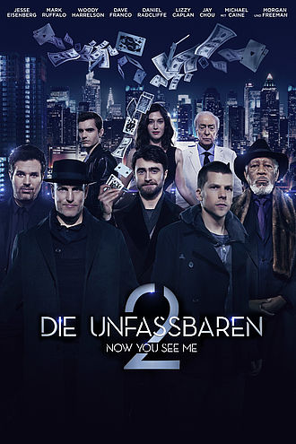 DVD Cover Now you see me 2