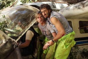 Ignacia Allamand und Ariel Levy nach Flugzeugabsturz in The Green Inferno von Eli Roth