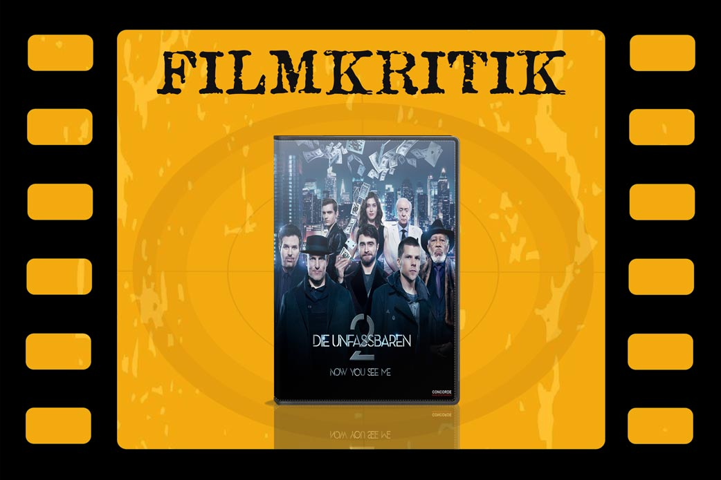 Filmkritik Now you see me 2 DVD Cover in Filmrolle