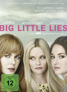 DVD-Cover Big Little Lies mit Nicole Kidman, Reese Witherspoon und Shailene Woodley