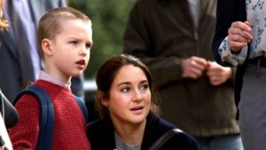 Szenenbild Big Little Lies mit Iain Armitage und Shailene Woodley