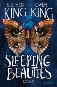 SleepingBeautiesvonStephen&OwenKing Cover mit Schmetterlingen und Augen