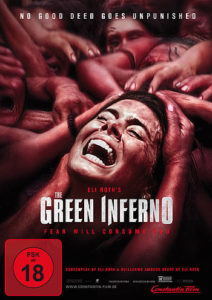 Cover The Green Inferno FSK 18
