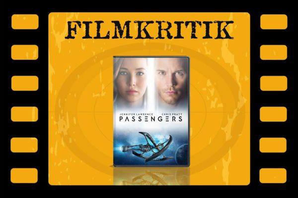 Filmkritik Passengers mit DVD Cover in Filmrolle