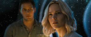 Chris Pratt und Jennifer Lawrence in Pasengers