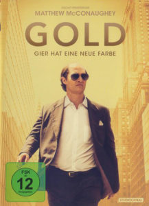 Cover Gold mit Matthew McConaughey als Kenny Wells