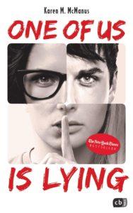 Cover von One of us is lying von Karen M. McManus
