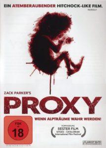 DVD Cover Proxy mit rotem Fötus