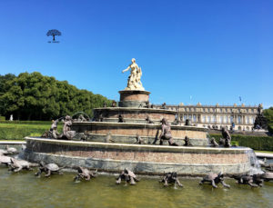Latona Brunnen Herrenchiemsee