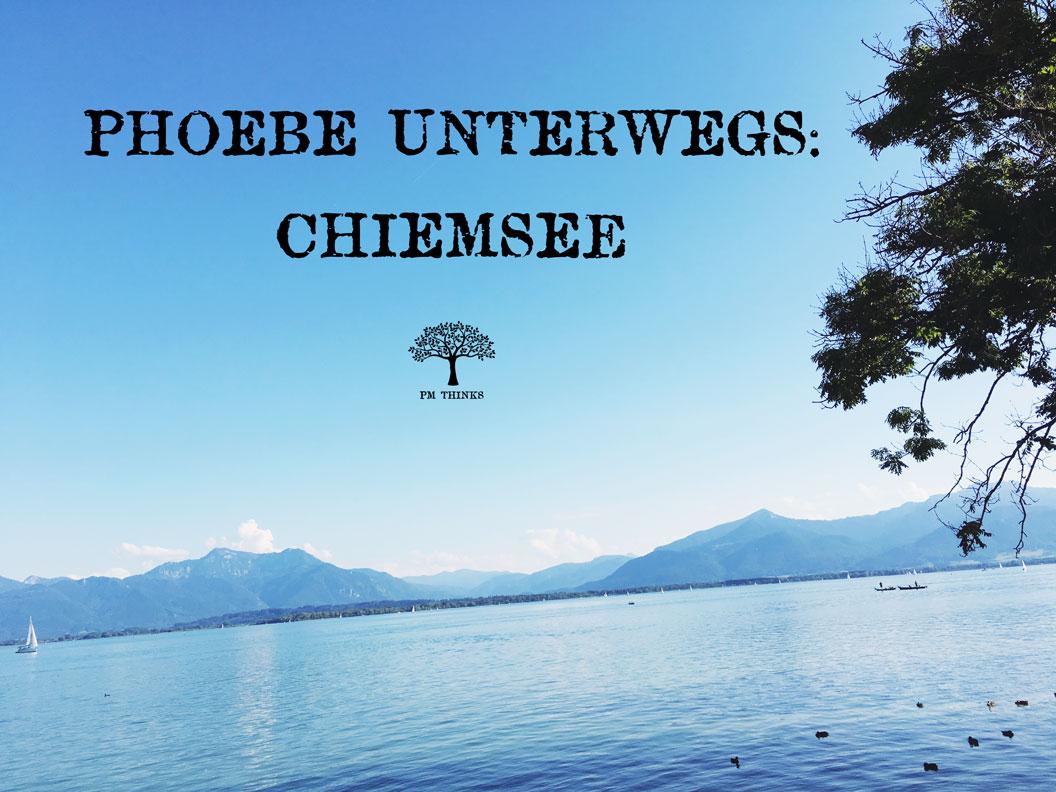 Phoebe Miller unterwegs am Chiemsee