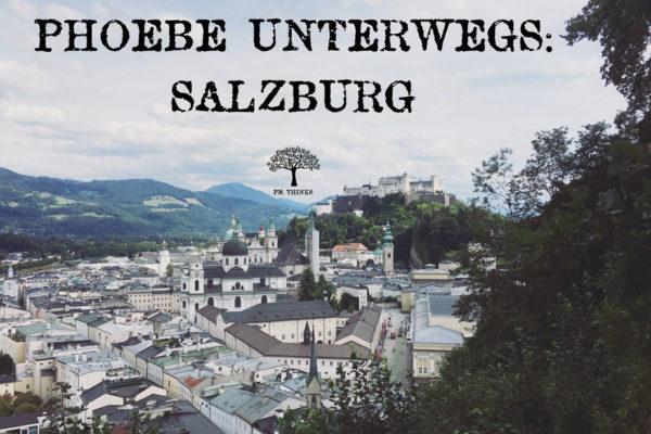 Phoebe Miller unterwegs in Salzburg