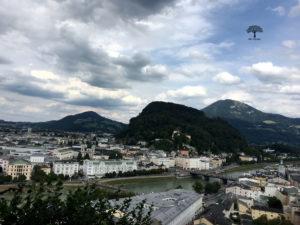 Salzburg und die Salzach