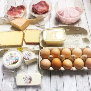 Unsere Ernährung: Einkauf vom Bauernmarkt Ebern